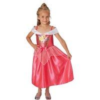 Princesas Disney - Bella Durmiente - Disfraz Lentejuelas 3-4 años