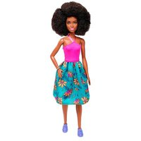 Barbie - Muñeca Fashionista - Falda Tropical