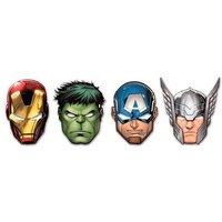 Los Vengadores - Pack 6 Máscaras