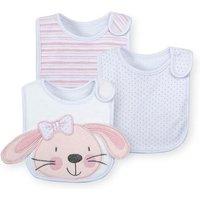 Babies R Us - Pack 3 Baberos Conejito