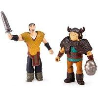 Dragones de Berk - Pack 2 Figuras - Eret vs Snotlout