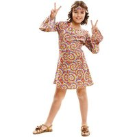Disfraz Infantil - Hippie Psicodélica 10-12 años