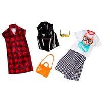 Barbie - Chaqueta de Cuero y Camiseta Gato - Pack 2 Modas