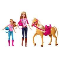 Barbie - Barbie y su Hermanita con Caballo