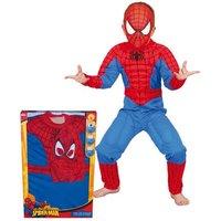 Disfraz Spider-man Musculoso en Caja 3-4 años
