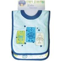 Babies R Us - Pack 2 Baberos Robot