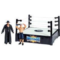 WWE - Ring con 2 Figuras John Cena y Undertaker