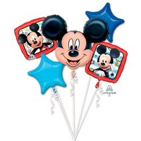 Mickey Mouse - Pack 5 Globos Bouquet