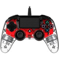 PS4 - Mando Nacon Wired Compact Rojo