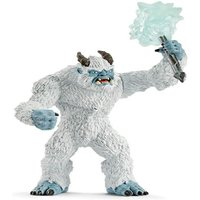 Monstruo de hielo con arma