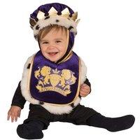 Disfraz Bebé - Babero con Sombrero Rey 1-2 años