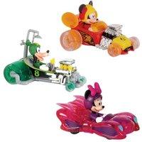 Mickey Mouse - Pack 3 Mini Vehículos Mickey y los Superpilotos