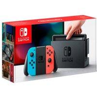 Nintendo Switch - Consola Azul Neón/Rojo Neón