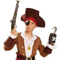 Pistola Pirata con Parche y Garfio