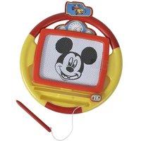 Pizarra mágica de Mickey sobre ruedas