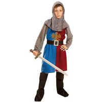 Disfraz Infantil - Caballero Medieval Azul y Granate 7-9 años