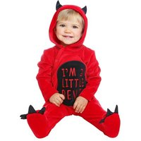 Disfraz Bebé - Diablillo 0-6 meses