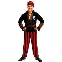 Disfraz Infantil - Niño Pirata Bandana 5-6 años