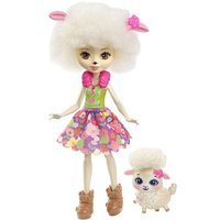 Enchantimals - Lorna Lamb -Muñeca y Mascota