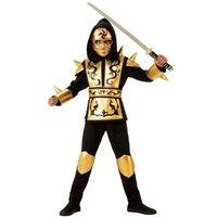 Disfraz Infantil - Dragón Ninja Gold 5-7 años