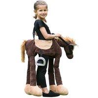 Disfraz Infantil - Peluche Pony Marrón con Tirantes