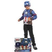 Los Vengadores - Capitán América - Disfraz Infantil en Caja 5-6 años