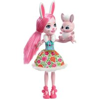Enchantimals - Bree Bunny - Muñeca y Mascota