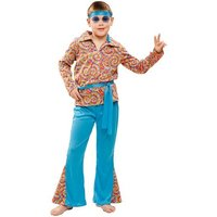 Disfraz Infantil - Hippie Psicodélico 10-12 años