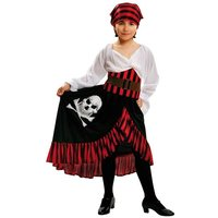 Disfraz Infantil - Niña Pirata Bandana 3-4 años