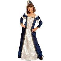 Disfraz Infantil Dama Medieval 5-6 años