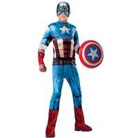 Los Vengadores - Capitán América - Disfraz Infantil Clásico 3-4 años