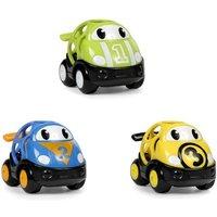 Oball - Pack 3 Vehículos de Carreras GoGrippers