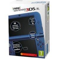 Nintendo - Consola New 3DS XL - Azul Metálico