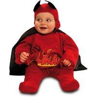 Disfraz Bebé - Diablillo Rojo 7-12 meses