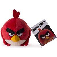 Angry Birds - Red - Peluche Básico 12 cm (rojo)