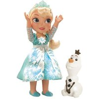 Frozen - Elsa Musical Vestido Luminoso