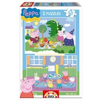 Educa Borrás - Peppa Pig - Puzzle 2 x 48 (varios modelos)