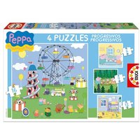 Educa Borras - Puzzle Progresivo Peppa Pig