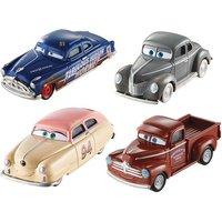 Cars - Pack 4 Vehículos Leyendas Cars 3