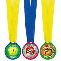 Super Mario - Pack 12 Medallas (varios modelos)
