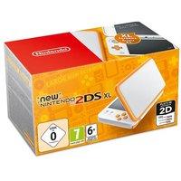 New Nintendo 2DS XL Blanco y Naranja