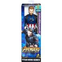 Los Vengadores - Capitán América - Figura Titan Hero 30 cm
