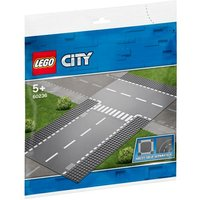 LEGO City - Rectas e Intersección en T - 60236