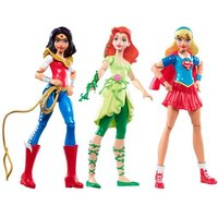 DC Super Hero Girls - Pack 3 Figuras