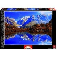 Educa Borrás - Puzzle 1500 Piezas - Chamonix Mont Blanc, Francia