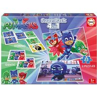 Educa Borras - PJ Mask - Superpack