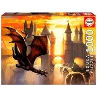 Educa Borrás - Dragón - Puzzle 1000 Piezas
