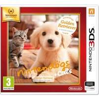 Nintendo 3DS - Selects Nintendogs + Gatos - Golden Retriever