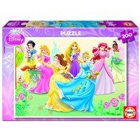 Educa Borras - Princesas Disney - Puzzle 200 Piezas