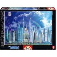 Educa Borrás - Puzzle 1000 Piezas - Puzzle Grandes Edificios
